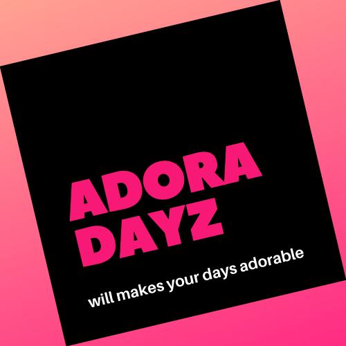 【お知らせ】ADORADAYZのオンラインストアがオープンしました!